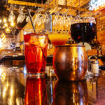 bar photography of a group of drinks at casagradas steakhouse in butte montana