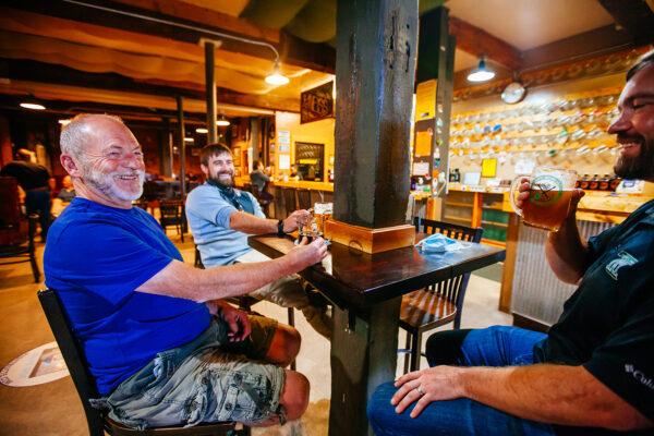quarry brewing interior bar photography butte montana