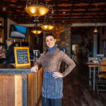 restaurant photography for la casa toscana owner in butte montana