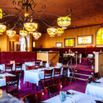 restaurant interior photography of lydias in butte montana