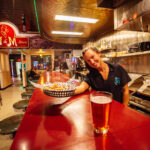 restaurant photography for m&m bar and cafe in butte montana