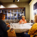 restaurant photography of ladies night in butte montana